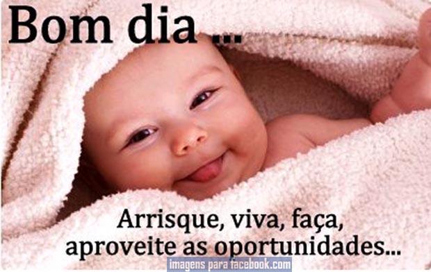 FACEBOOK Frase De Bom Dia Para A Semana